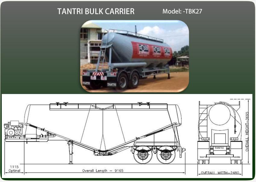 Cement Bulk Trailers Tantri
