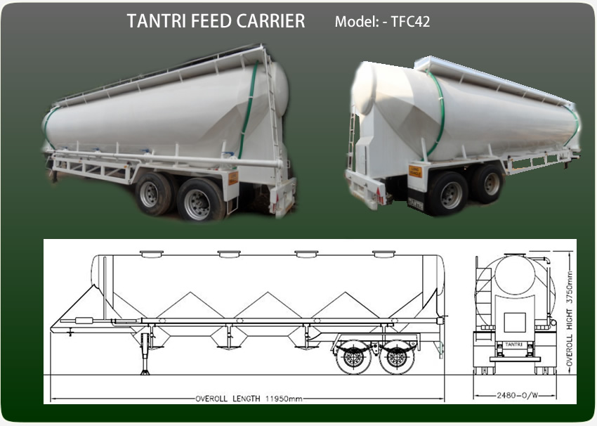 Animal Feed Trailer Tantri