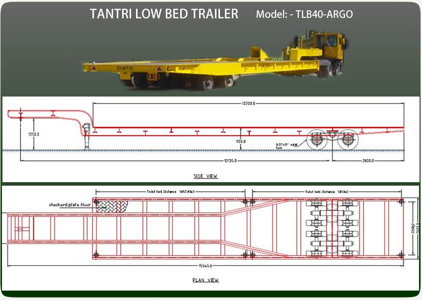 Lowbed Trailer Tantri