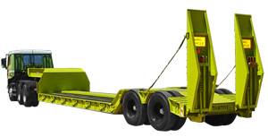 DROPBED TRAILER